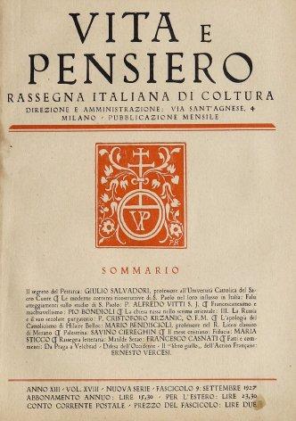 Francescanesimo e Macchiavellismo