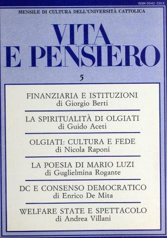 Francesco Olgiati: cultura e spiritualità
