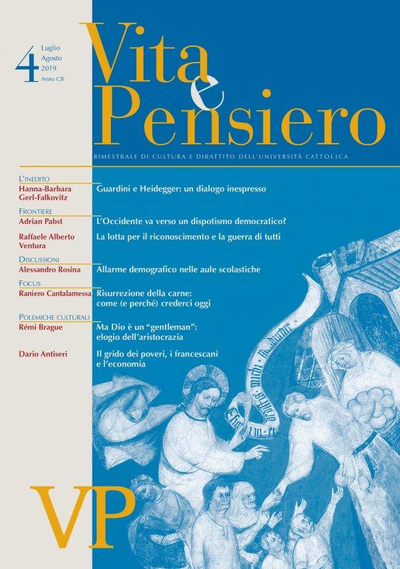 Georg Ratzinger e l'economia del Vangelo