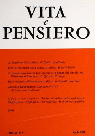 Giacomo Debenedetti: «Campionario '47»