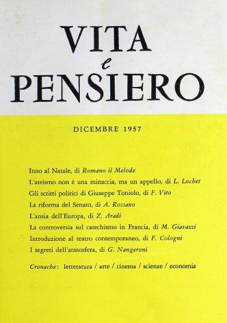 Gli scritti politici di Giuseppe Toniolo
