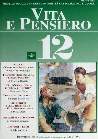 Gli scritti sulla Resistenza di Ezio Franceschini