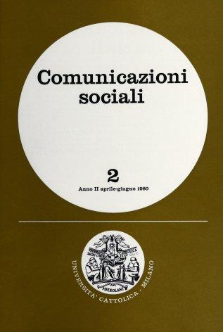 Gli utenti dei mezzi di comunicazione: una chiave di lettura fornita dall'indagine psicografica nazionale
