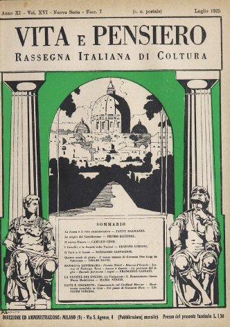 I Cattolici e la Società delle Nazioni