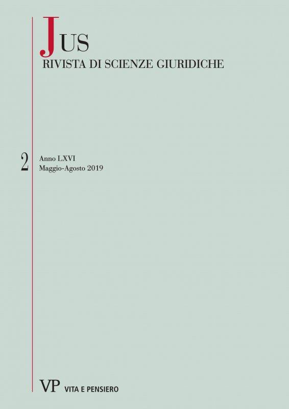 I rapporti tra ordinamento giuridico vaticano e ordinamento canonico: tra corretta configurazione ab intra e possibili travisamenti ab extra