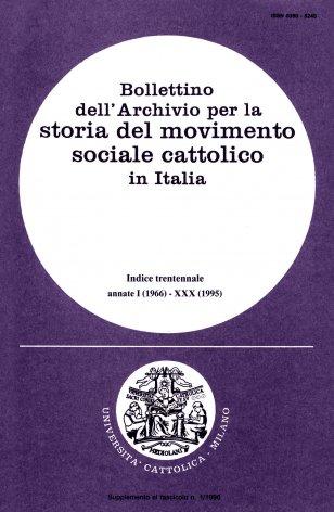 II. Documenti e note d'archivio