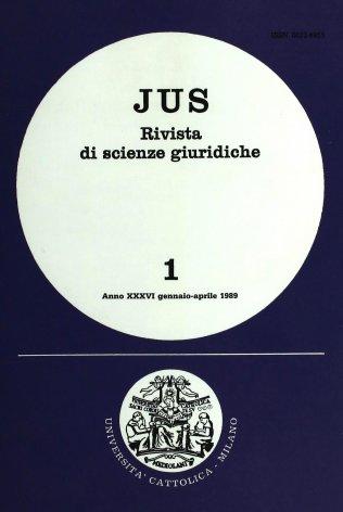 II nuovo Concordato fra l'Italia e la Santa Sede: riflessi di diritto penale
