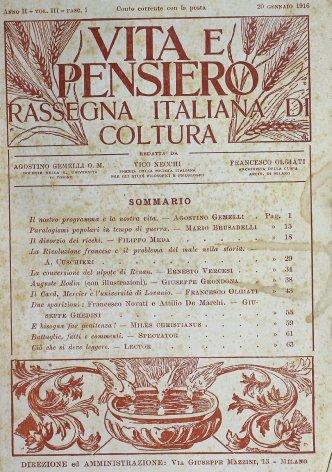 Il Card. Mercier e l'università di Lovanio