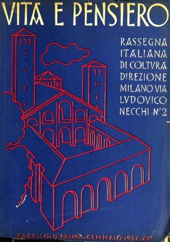Il compito di una Università cattolica e italiana nella lotta del comunismo contro cattolicismo e fascismo