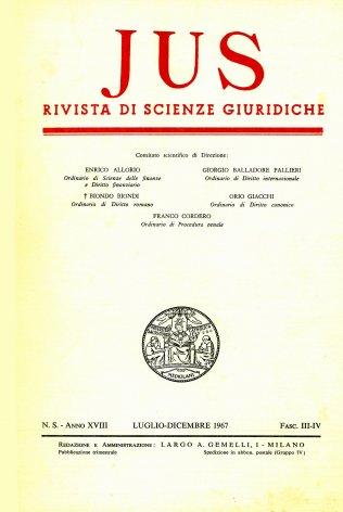 Il fondamento ed i caratteri dell'idea internazionalistica e cosmopolitica di Kant