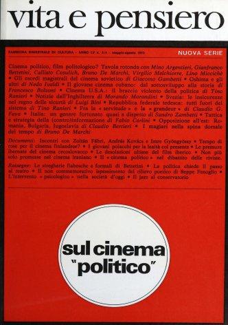 Il «cinema politico» nel dibattito delle riviste