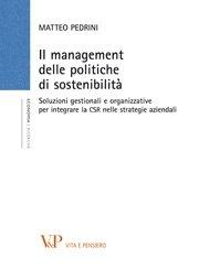 Il management delle politiche di sostenibilità