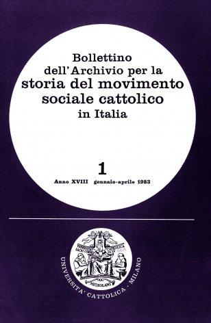 Il movimento sindacale dei ferrovieri cattolici (1910-1925)