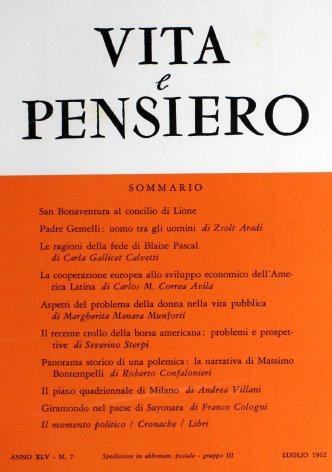 Il piano quadriennale di Milano