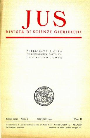 Il più recente pensiero filosofico-giuridico di Giorgio Del Vecchio