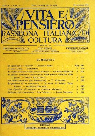 Il settimo centenario dell'inventore della polvere nell'anno della guerra