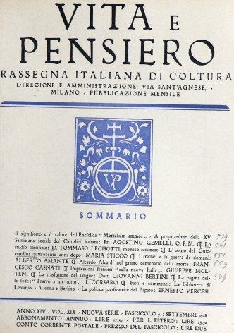 Il significato ed il valore dell'enciclica