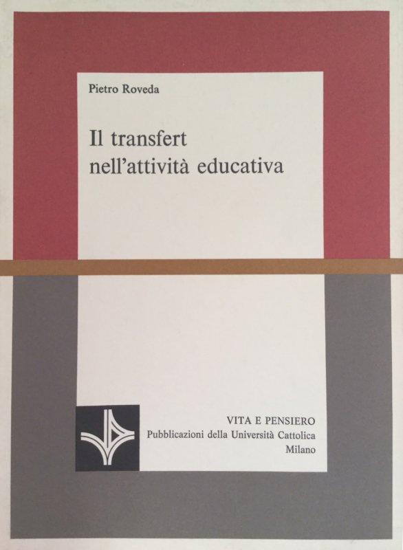 Il transfert nell'attività educativa