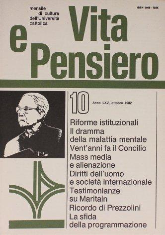 Il valore del «quotidiano prosaico» ricordo di Prezzolini