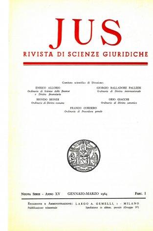 JUS - 1964 - 1