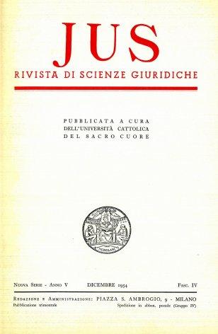 La concezione della giurisprudenza di B. Biondi e la filosofia giuridica classica