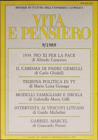 La diplomazia vaticana e lo scoppio della II guerra mondiale