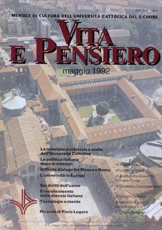 La missione ecclesiale e civile dell'Università Cattolica