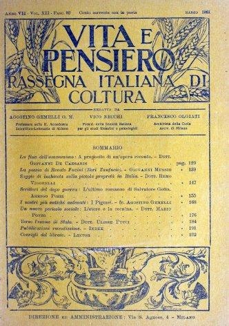 La poesia di Renato Fucini (Neri Tanfucio)