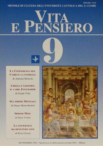La questione ebraica nelle prediche d'Avvento del cardinal Michael Faulhaber