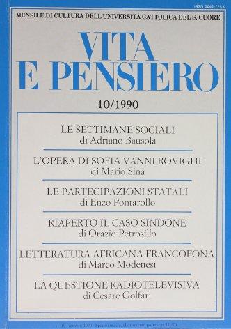 La questione radiotelevisiva in Italia