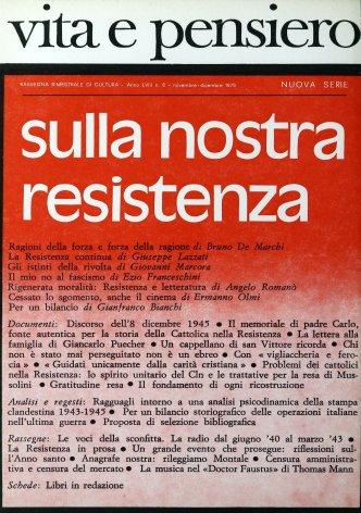 La Resistenza in prosa