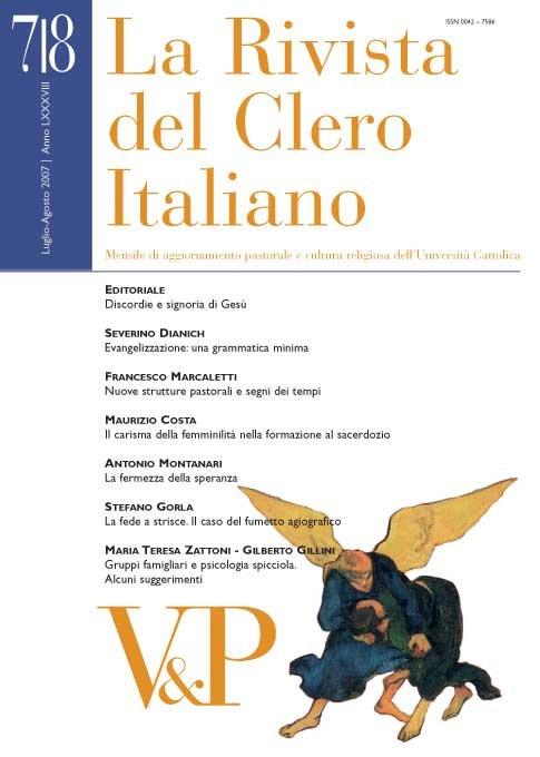 LA RIVISTA DEL CLERO ITALIANO - 2007 - 7-8