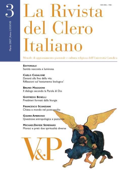 LA RIVISTA DEL CLERO ITALIANO - 2008 - 4