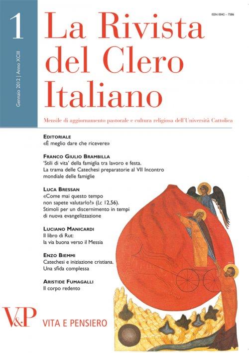 LA RIVISTA DEL CLERO ITALIANO - 2012 - 12