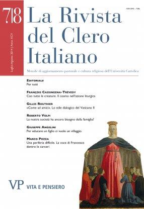 LA RIVISTA DEL CLERO ITALIANO - 2014 -  7-8