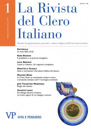 LA RIVISTA DEL CLERO ITALIANO - 2015 - 1