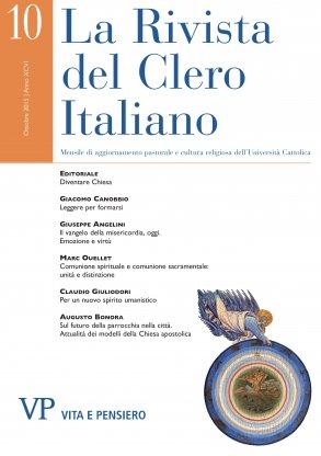 LA RIVISTA DEL CLERO ITALIANO - 2015 - 10