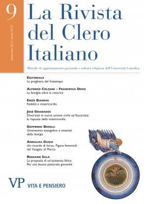 LA RIVISTA DEL CLERO ITALIANO - 2015 - 9