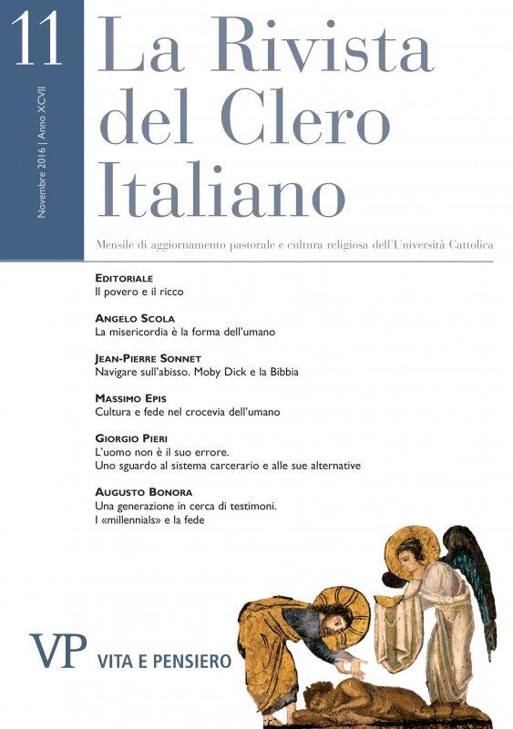 LA RIVISTA DEL CLERO ITALIANO - 2016 - 11