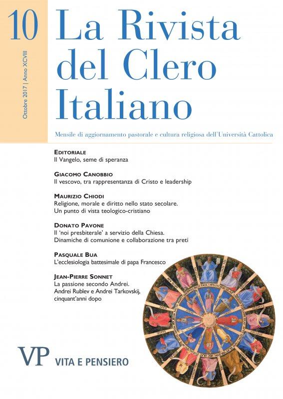 LA RIVISTA DEL CLERO ITALIANO - 2017 - 10