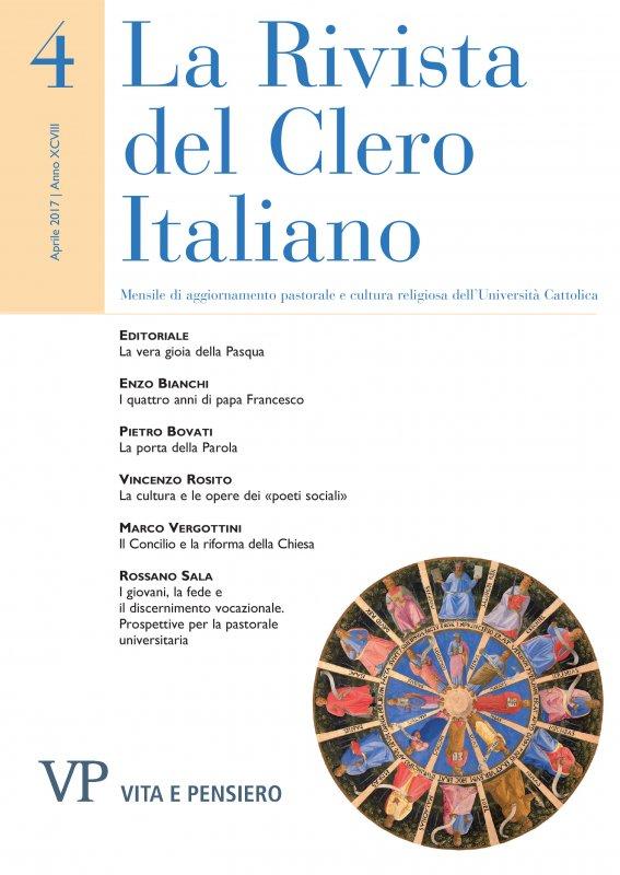 LA RIVISTA DEL CLERO ITALIANO - 2017 - 4