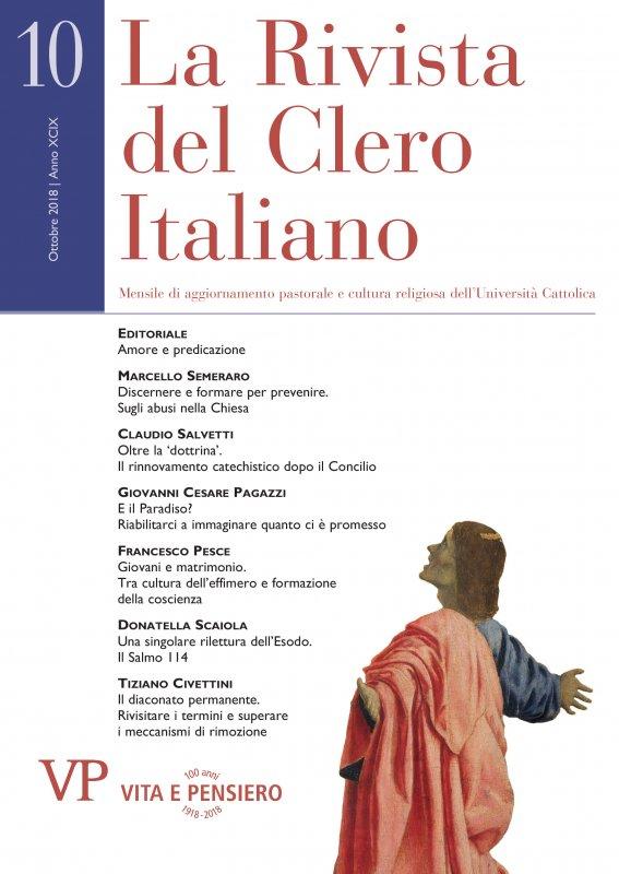 LA RIVISTA DEL CLERO ITALIANO - 2018 - 10