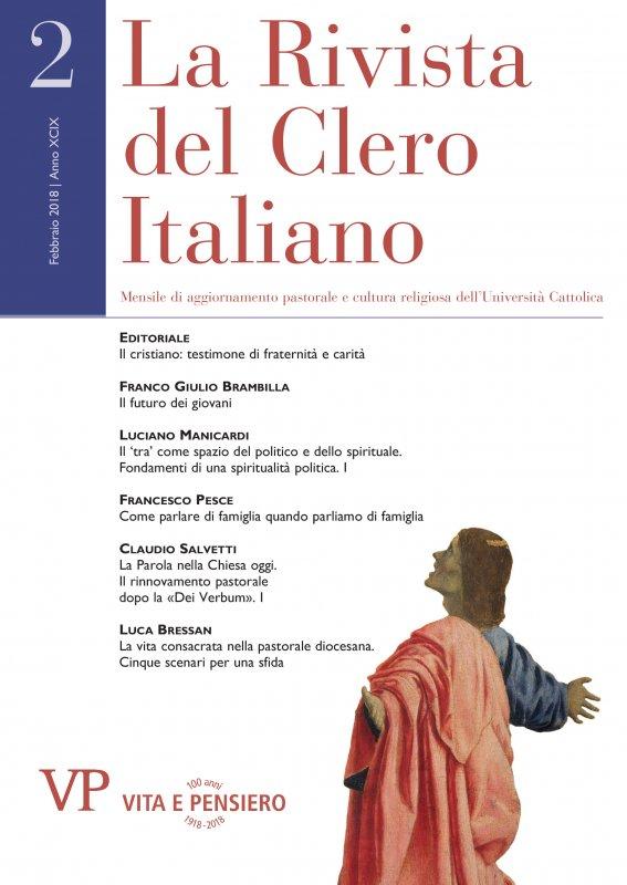 LA RIVISTA DEL CLERO ITALIANO - 2018 - 2