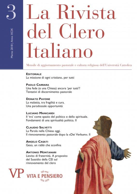 LA RIVISTA DEL CLERO ITALIANO - 2018 - 3
