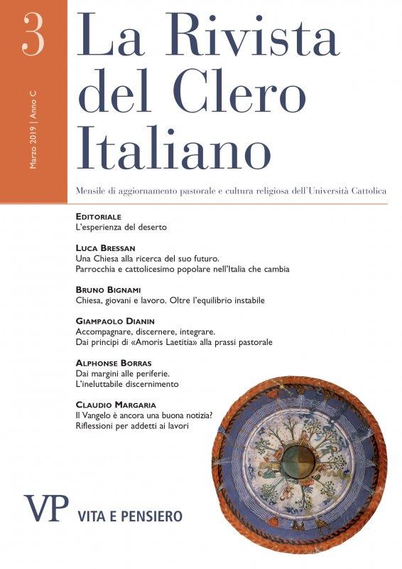 LA RIVISTA DEL CLERO ITALIANO - 2019 - 3