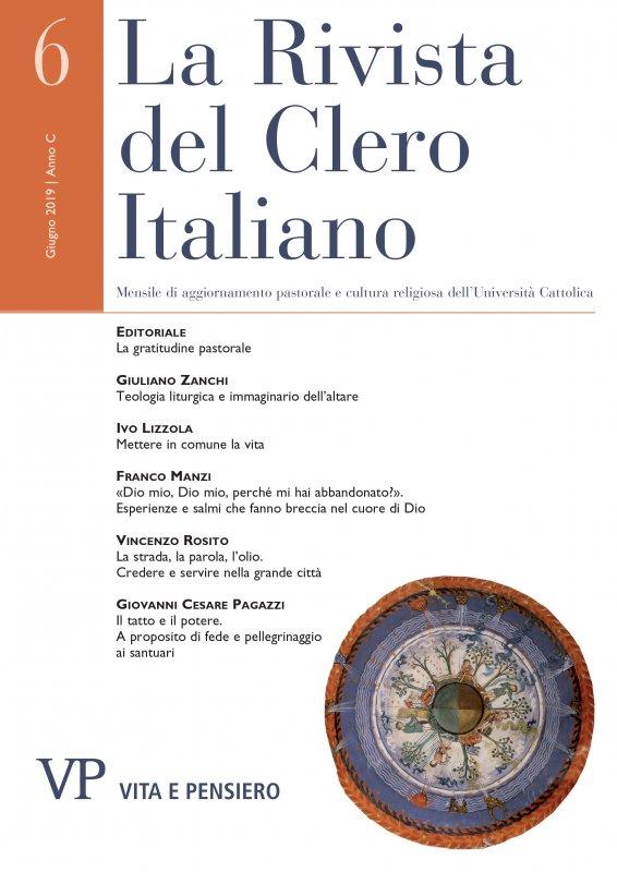 LA RIVISTA DEL CLERO ITALIANO - 2019 - 6