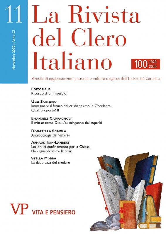 LA RIVISTA DEL CLERO ITALIANO - 2020 - 11