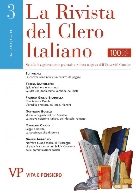 LA RIVISTA DEL CLERO ITALIANO - 2020 - 3