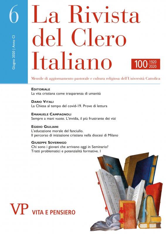 LA RIVISTA DEL CLERO ITALIANO - 2020 - 6