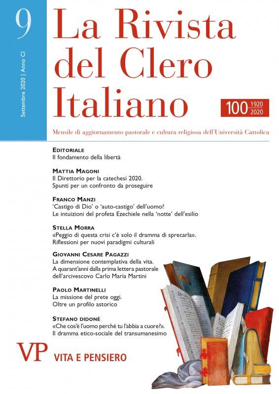 LA RIVISTA DEL CLERO ITALIANO - 2020 - 9